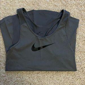 Grey Nike Tank Top